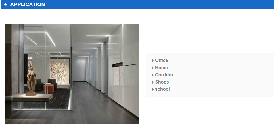 Best recessed linear led lighting led factory for shops-11