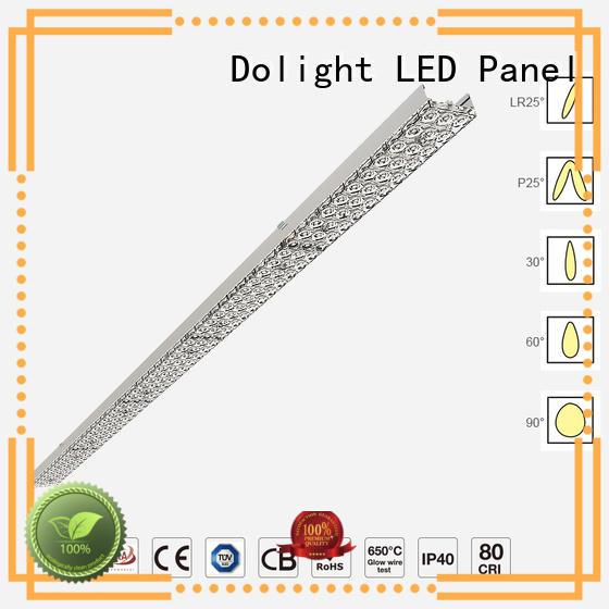 Dolight LED Panel lens linear led lighting manufacturers for supermarket