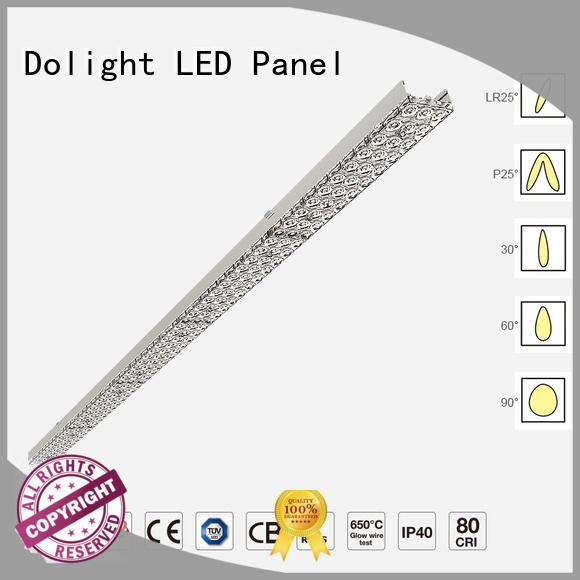 Dolight LED Panel Best led linear suspension lighting suppliers for boardrooms