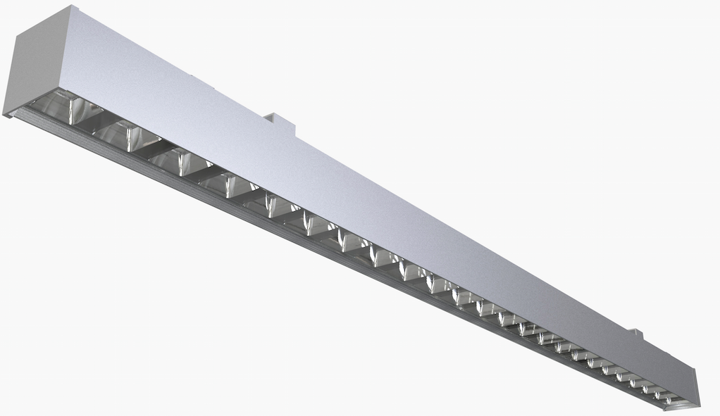 Dolight LED Panel reflector commercial linear pendant lighting for business for shops-1
