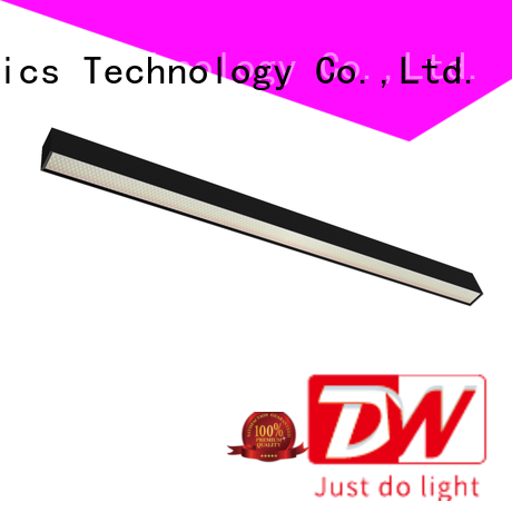 Dolight LED Panel updown commercial linear pendant lighting supply for corridor