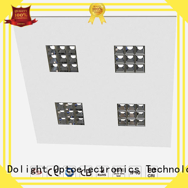 Dolight LED Panel lens grille led panel suppliers for corridors