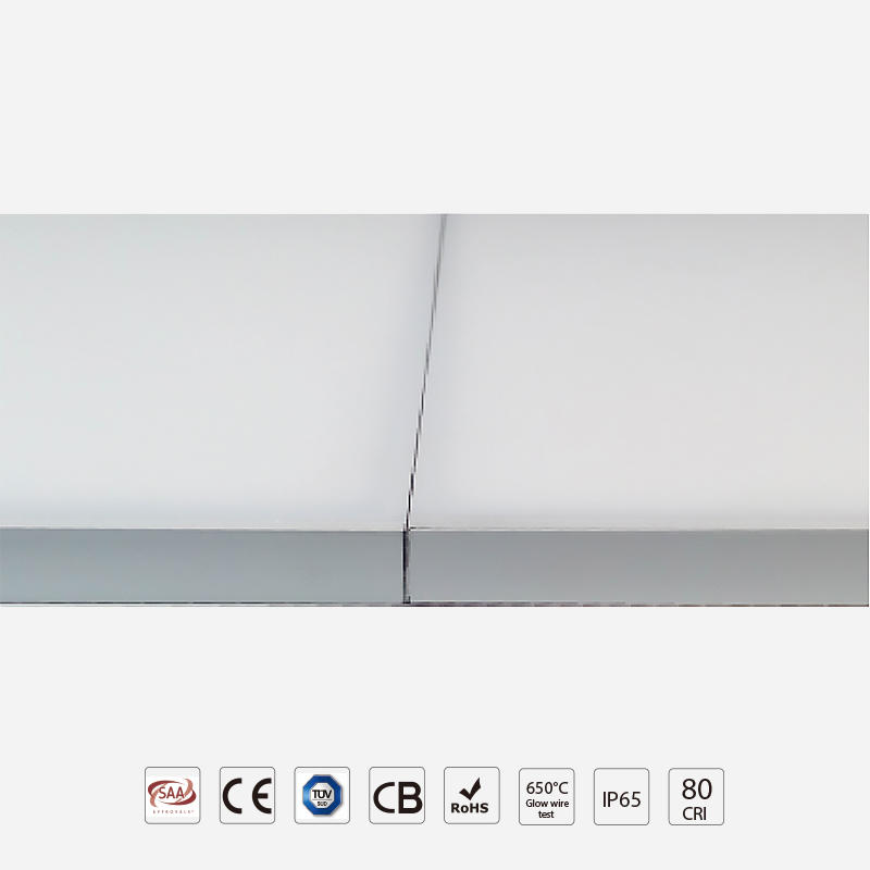 Standard Narrow Frame Panel Light With Diversified Installation Way