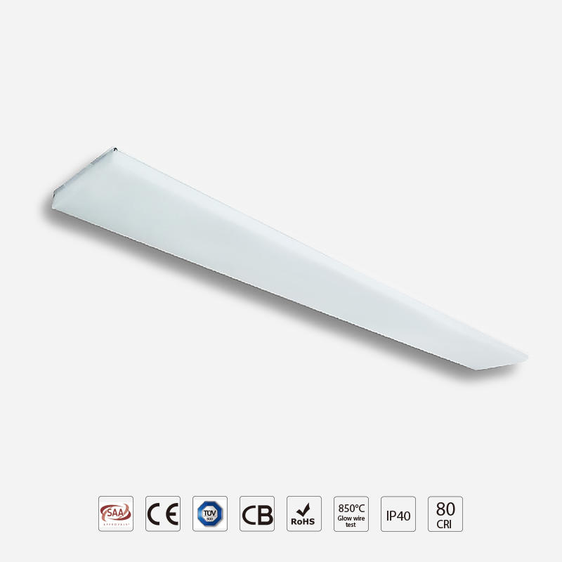 High Efficiency 3D Frameless Linear Panel Light