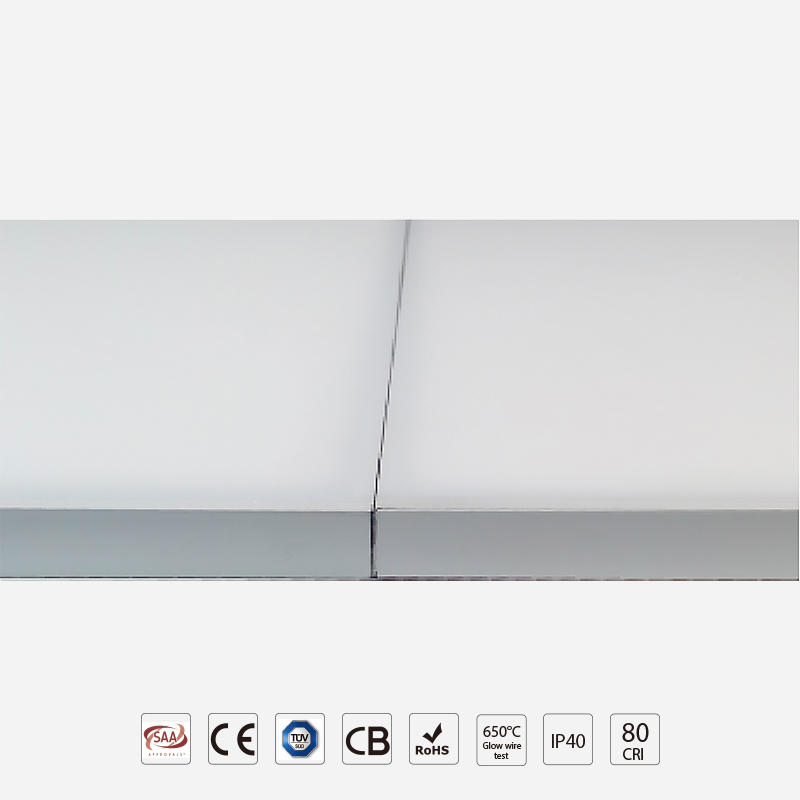 RGBW Frameless Panel Light DC24V Remote control