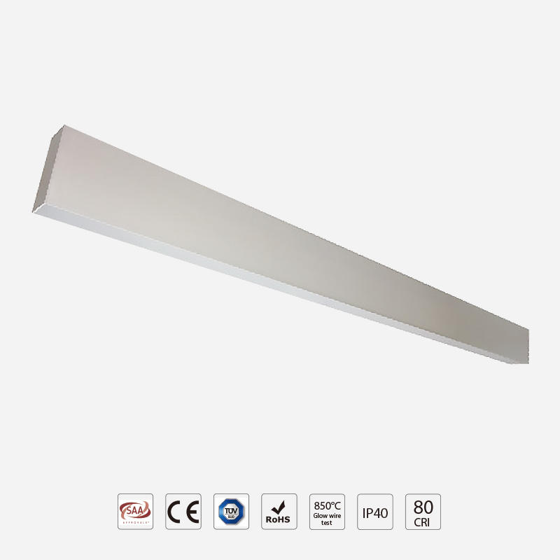 linear led pendant ra90 flavor recessed linear led lighting manufacture