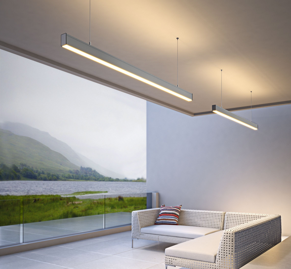 Dolight LED Panel professional linear suspension lighting manufacturer for office
