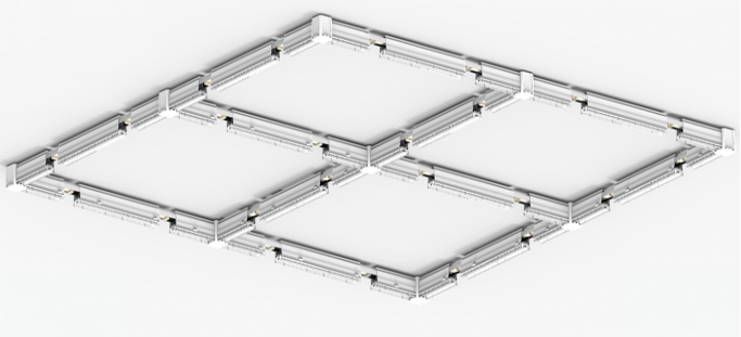 Dolight LED Panel linear trunking light supply for supermarket-16