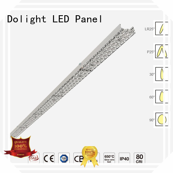 Top trunking light installation factory for corridors