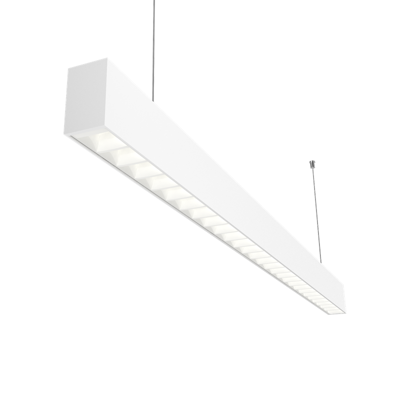 CCT Color Selected L45 LEDiL Daisy Linear Light White or Black Color