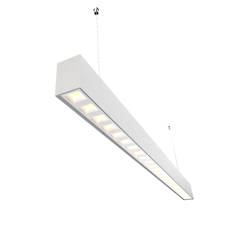 Wholesale recessed linear led lighting 90lmw manufacturers for shops