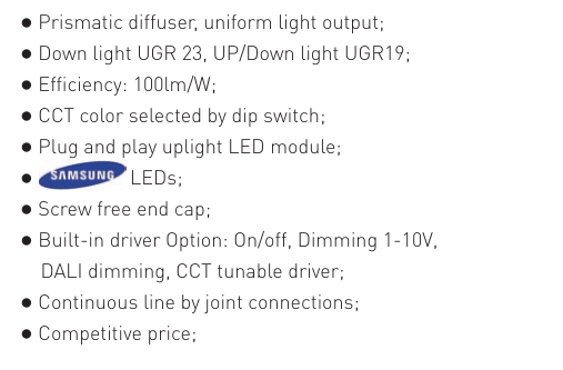 Dolight LED Panel Latest led linear pendant manufacturers for corridor-3