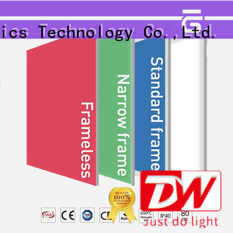 multi color led light panels light frameless remote Dolight LED Panel Brand company