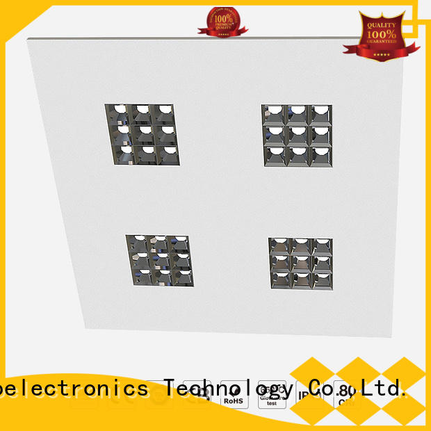Top square led panel light price for business for offices
