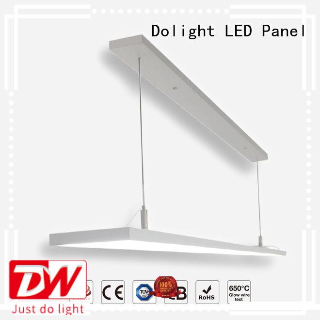 pendant rectangular led panel frameless for bookstore Dolight LED Panel