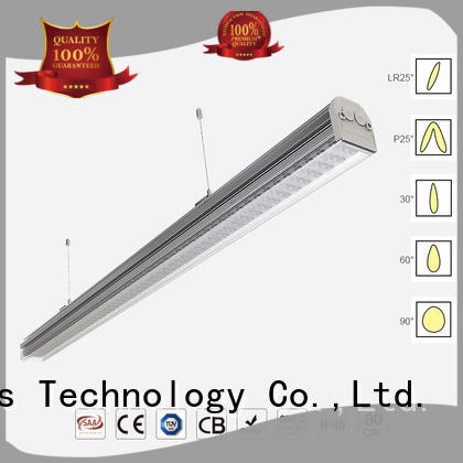 suspended linear led light fixture waterproof for corridors Dolight LED Panel