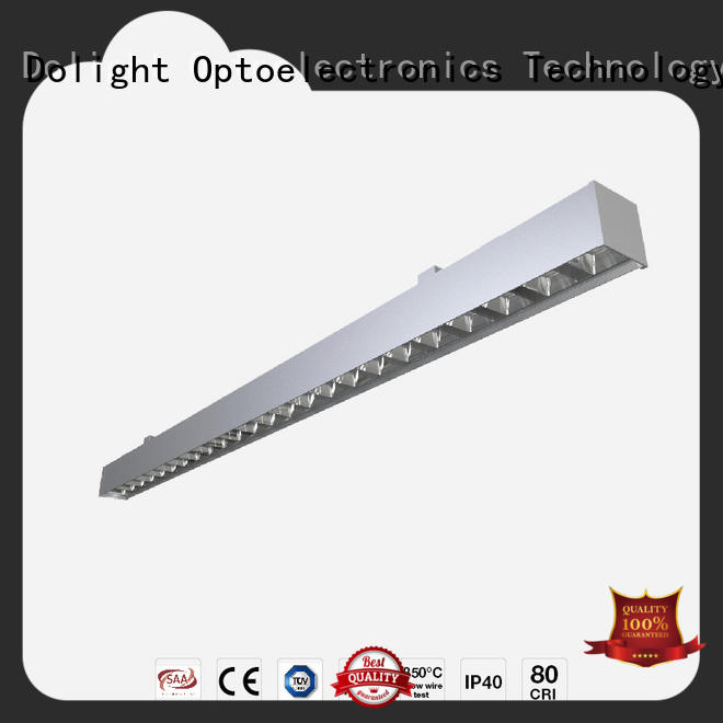 Dolight LED Panel reflector commercial linear pendant lighting for business for shops