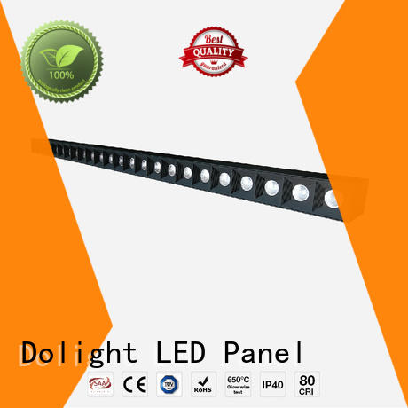 Dolight LED Panel Brand design lo50 wash recessed linear led lighting manufacture
