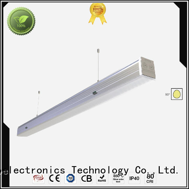 Dolight LED Panel lens linear light fixture factory for supermarket