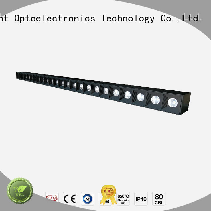 stable linear led light fixture glare manufacturer for shops