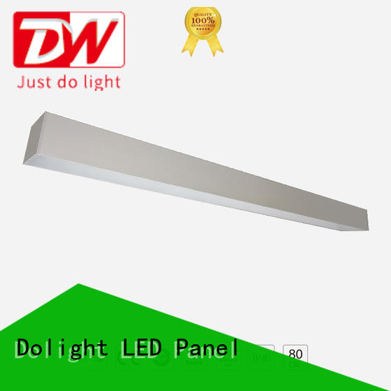 Dolight LED Panel linear recessed linear led lighting supply for office