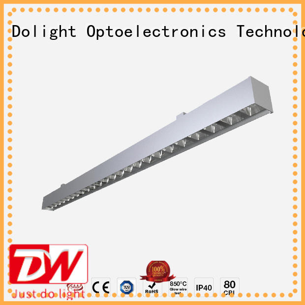Dolight LED Panel glare linear suspension lighting suppliers for shops