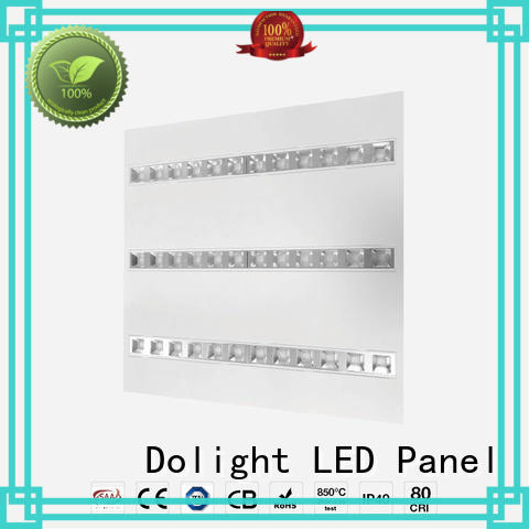 Dolight LED Panel grille flat panel led lights supply for hotels