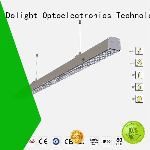 Dolight LED Panel waterproof led linear suspension lighting manufacturer for corridors