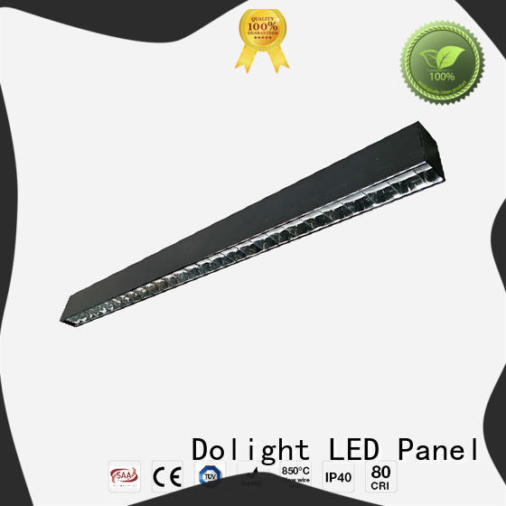 Dolight LED Panel glare linear recessed lighting for business for school