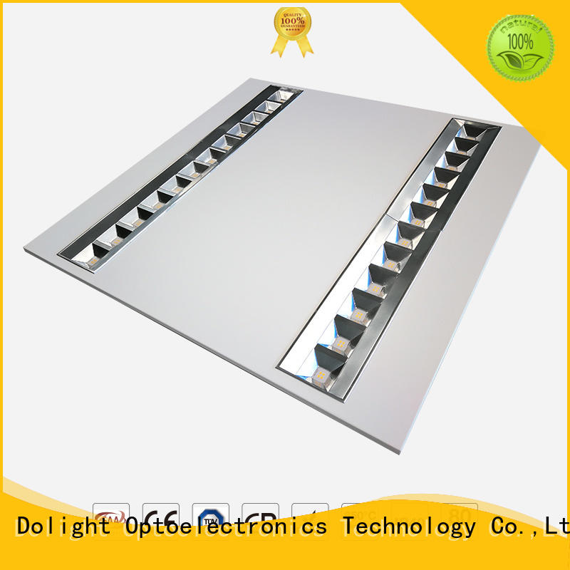 lens grille efficiency Dolight LED Panel Brand square led panel manufacture