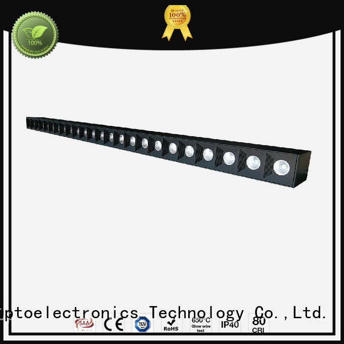linear led pendant design grille recessed linear led lighting flavor Dolight LED Panel Brand