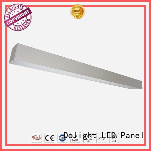 Custom commercial linear pendant lighting reflector supply for shops