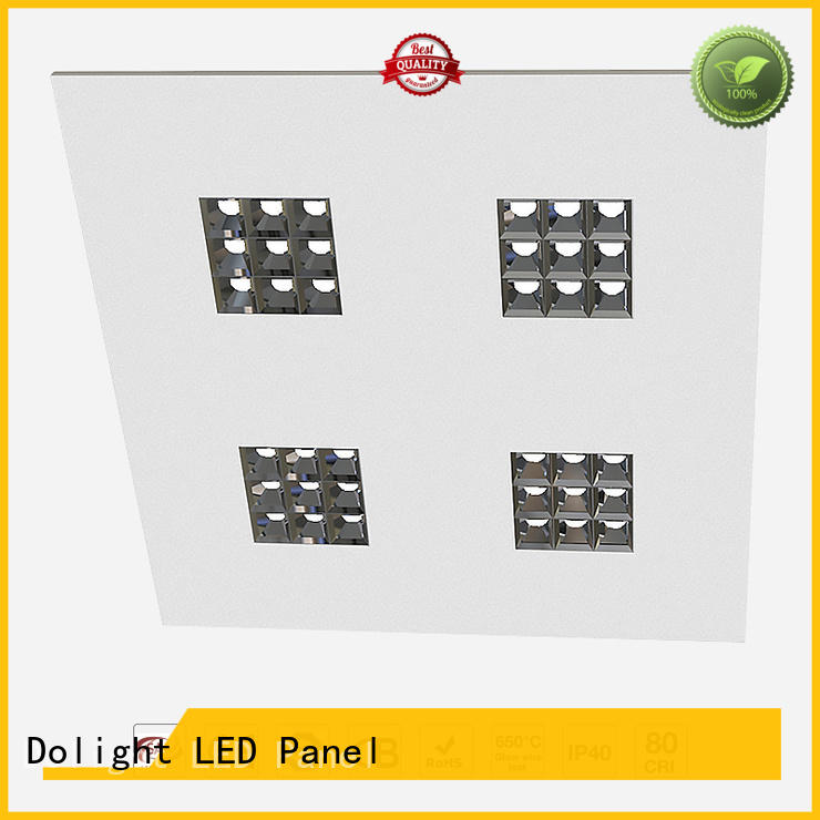 stable led panel ceiling lights lens series for offices