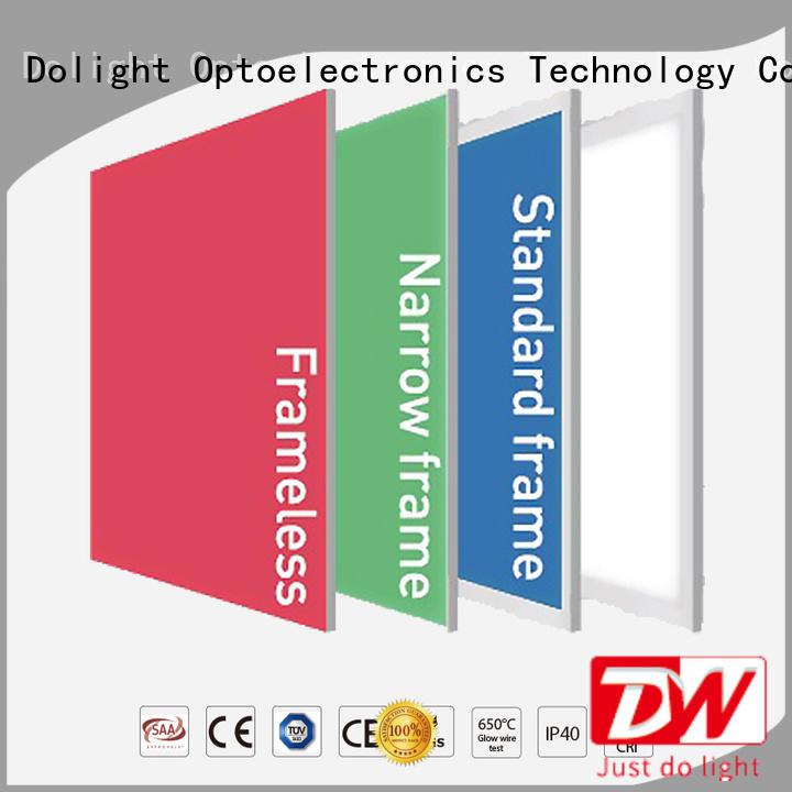 multi color led light panels frameless remote rgbw panel manufacture