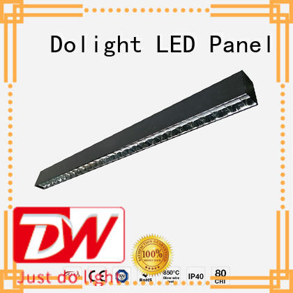 Dolight LED Panel Brand lo30 classic linear led pendant lens supplier