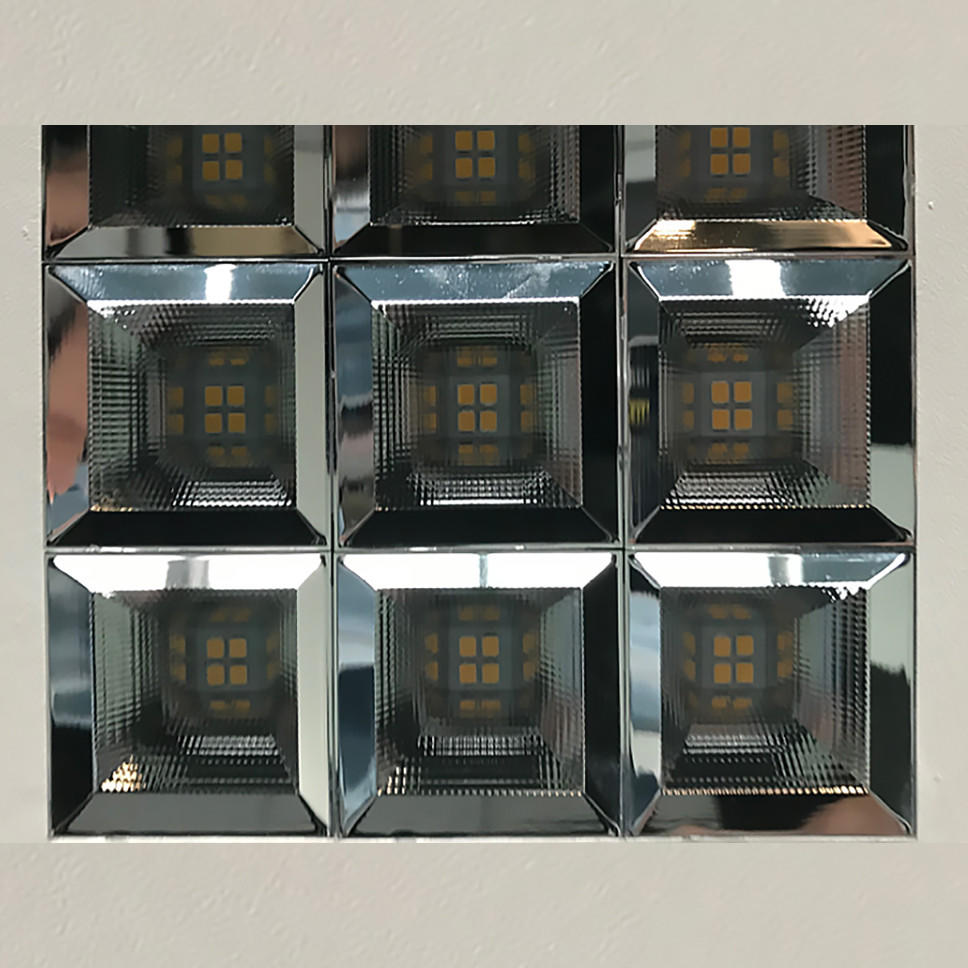 Custom flat panel led lights changeable for business for motels-2