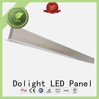 Dolight LED Panel professional suspended linear led lighting supplier for shops