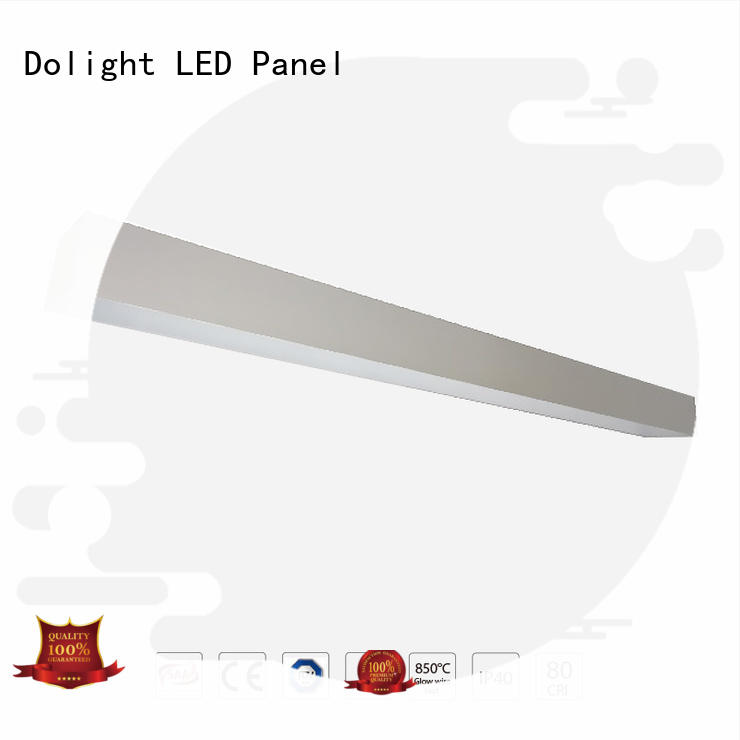 Dolight LED Panel Brand ra90 updown recessed linear led lighting manufacture