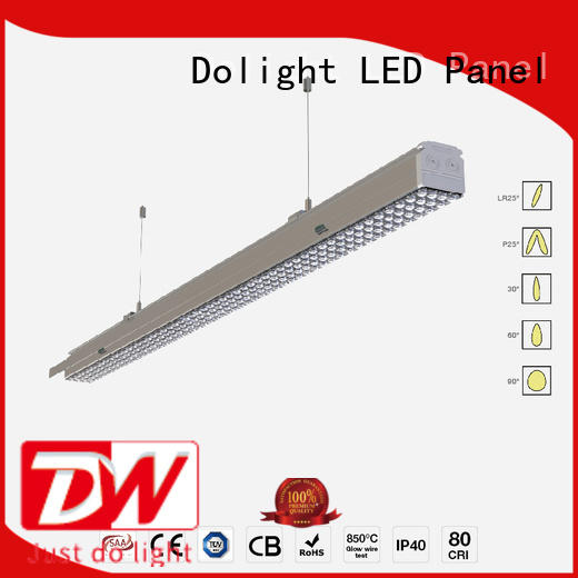 Dolight LED Panel Brand trunk linear light fixture beam factory