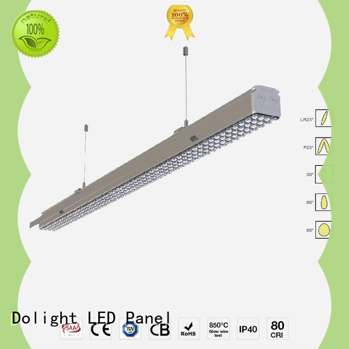 Dolight LED Panel frosted led trunking light factory for warehouse