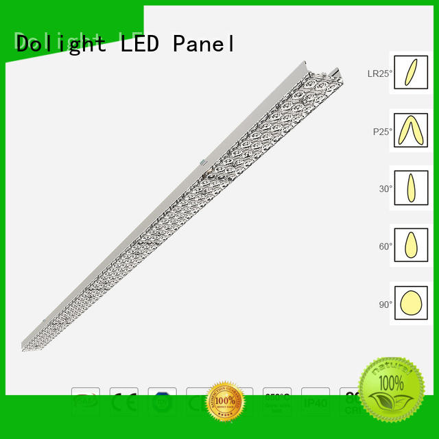 Dolight LED Panel stable linear light fitting wholesale for supermarket