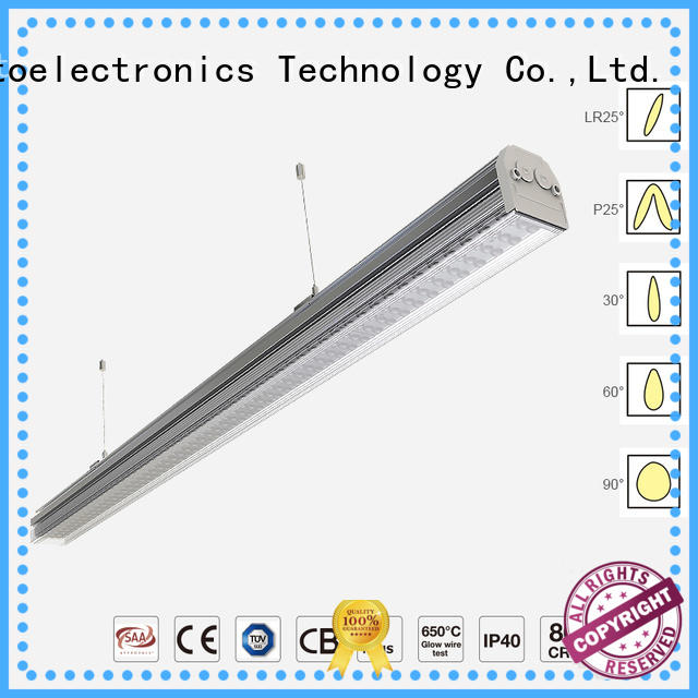 New linear light fitting cover supply for offices
