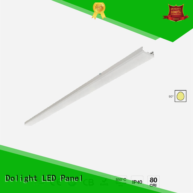 high quality linear led lighting installation on sale for corridors