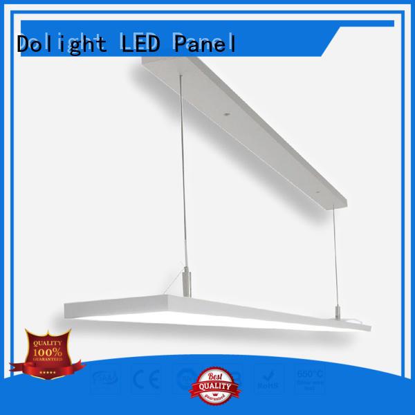 Custom simple frame linear pendant lighting Dolight LED Panel special