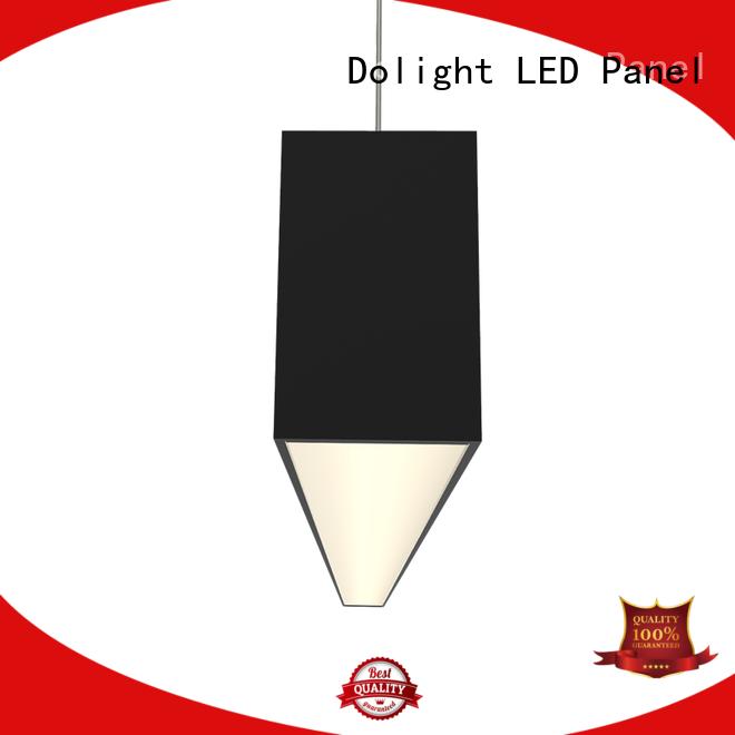 Custom led linear pendant lens supply for office