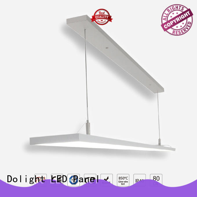 Dolight LED Panel Best linear pendant lighting supply for boardrooms