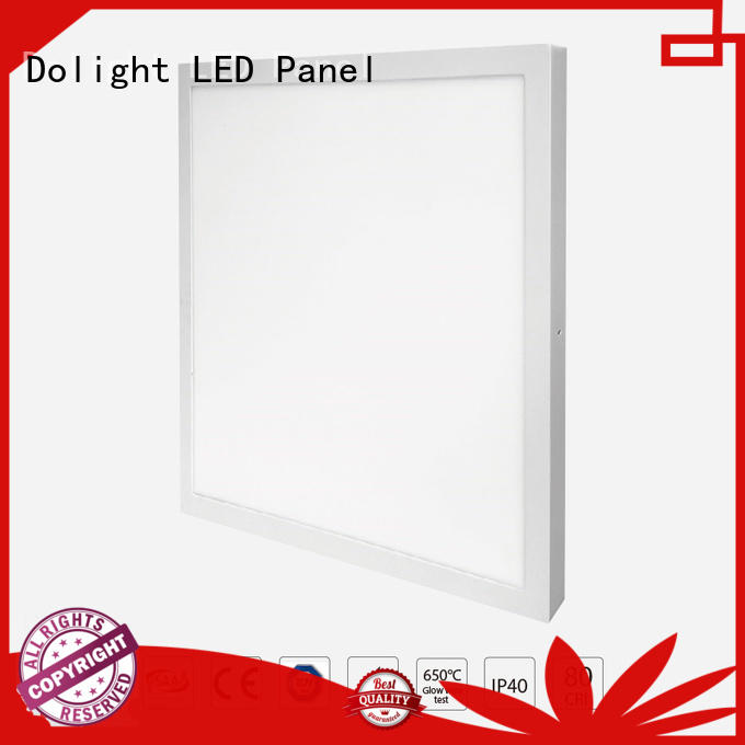 Custom panel oriented led flat panel Dolight LED Panel distribution