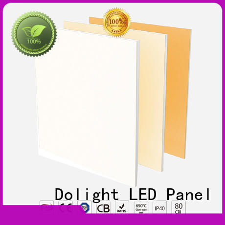 Custom surface mounted led panel light tunable supply for retail / shopping