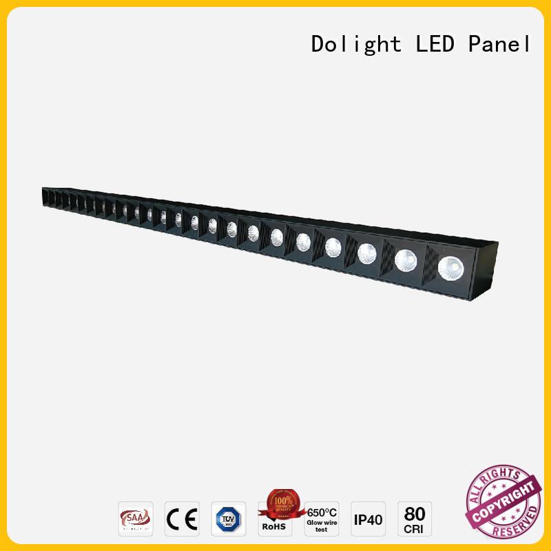 Dolight LED Panel Wholesale linear led pendant light manufacturers for school
