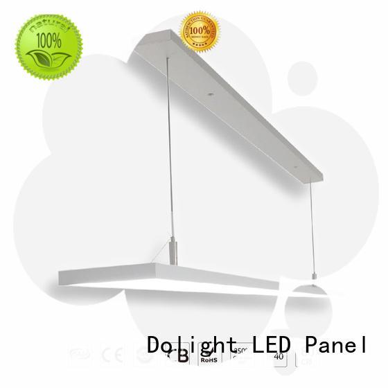 Dolight LED Panel Custom linear pendant lighting company for library